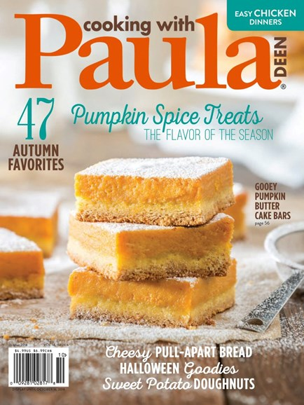 Cooking With Paula Deen Cover - 10/1/2018