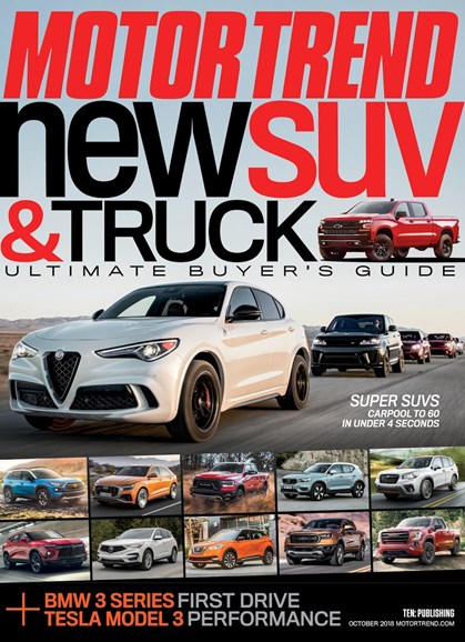Motor Trend Cover - 10/1/2018