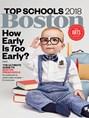 Boston Magazine | 9/2018 Cover