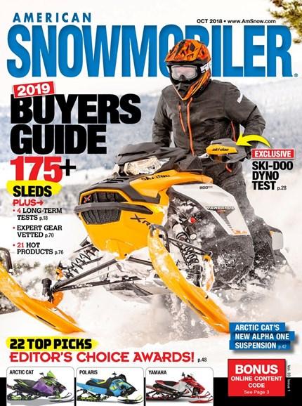 American Snowmobiler Cover - 10/1/2018