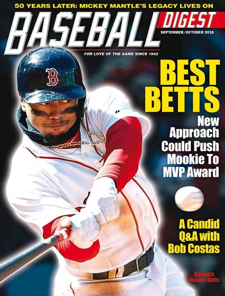 Baseball Digest Cover - 9/1/2018