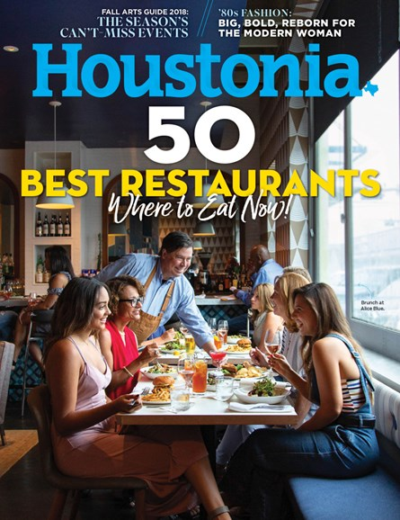 Houstonia Cover - 9/1/2018