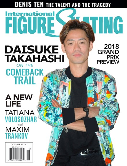 International Figure Skating Cover - 10/1/2018