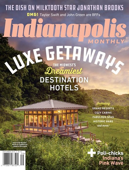 Indianapolis Monthly Cover - 9/1/2018