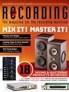 Recording Magazine 9/1/2018