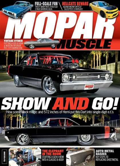 Mopar Muscle Cover - 11/1/2018