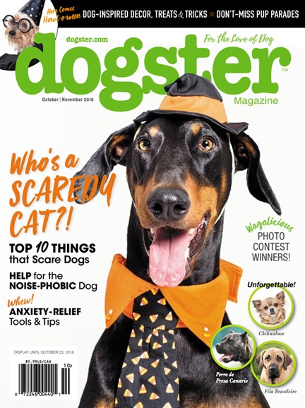 Dogster Cover - 10/1/2018