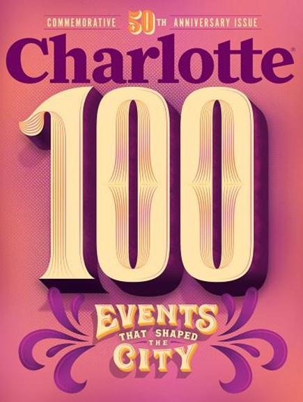 Charlotte Magazine Cover - 9/1/2018