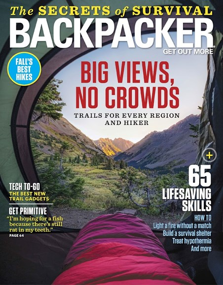 Backpacker Cover - 10/1/2018