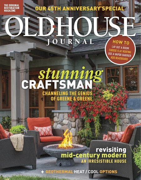 Old House Journal Cover - 10/1/2018