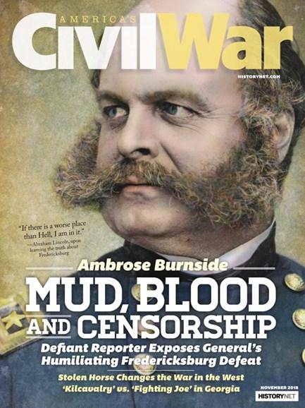 America's Civil War Cover - 11/1/2018