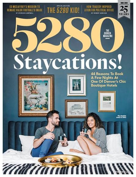 5280 Magazine Cover - 9/1/2018