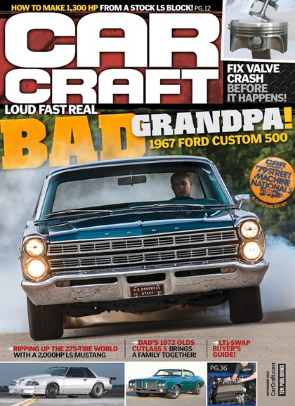 Car Craft Cover - 11/1/2018
