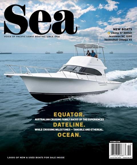 Sea Magazine Cover - 10/1/2018