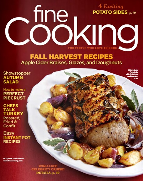 Fine Cooking Cover - 10/1/2018