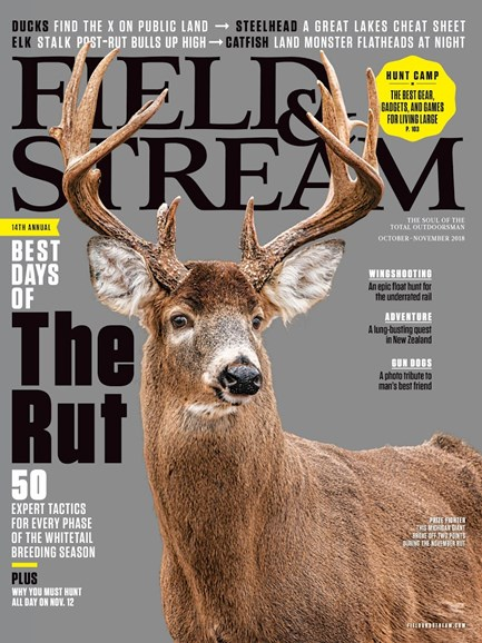 Field & Stream Cover - 10/1/2018