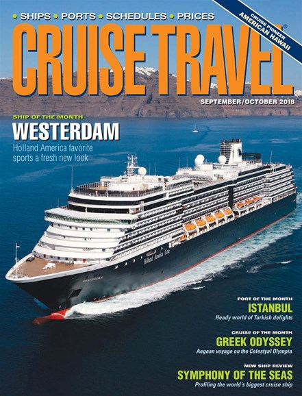 Cruise Travel Cover - 9/1/2018