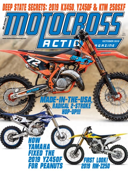 Motocross Action Cover - 10/1/2018