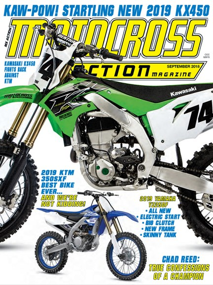 Motocross Action Cover - 9/1/2018