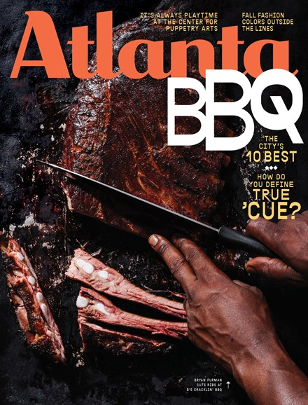 Atlanta Magazine Cover - 9/1/2018