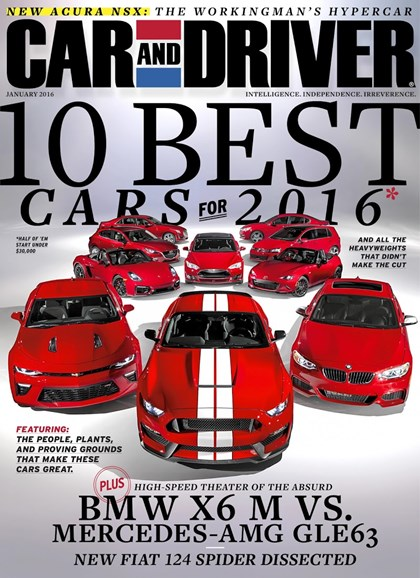 Car And Driver Cover - 1/1/2016