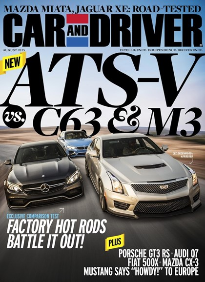 Car And Driver Cover - 8/1/2015