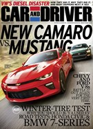 Car And Driver Magazine 12/1/2015