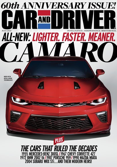 Car And Driver Cover - 7/1/2015
