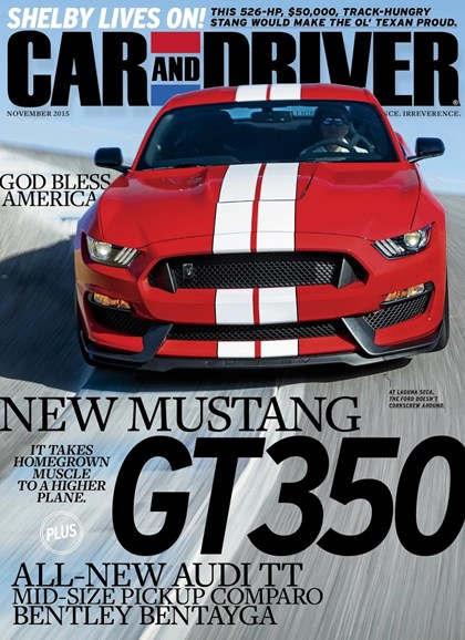 Car And Driver Cover - 11/1/2015
