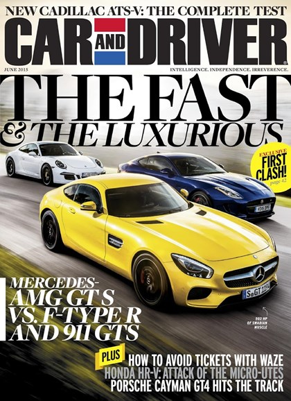 Car And Driver Cover - 6/1/2015