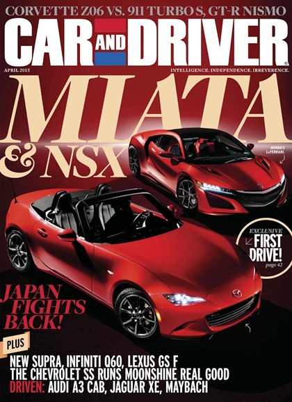 Car And Driver Cover - 4/1/2015