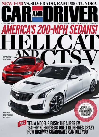 Car And Driver Cover - 2/1/2015