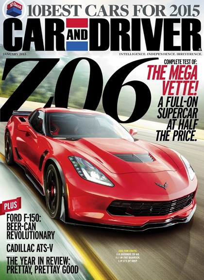 Car And Driver Cover - 1/1/2015
