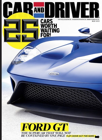 Car And Driver Cover - 5/1/2015