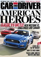 Car And Driver Magazine 12/1/2014