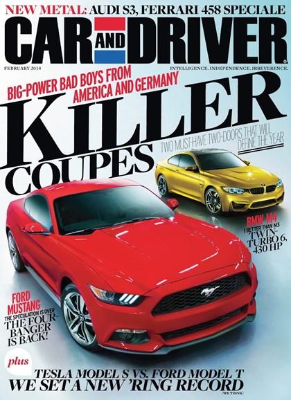Car And Driver Cover - 2/1/2014