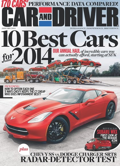 Car And Driver Cover - 1/1/2014