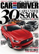 Car And Driver Magazine 7/1/2014