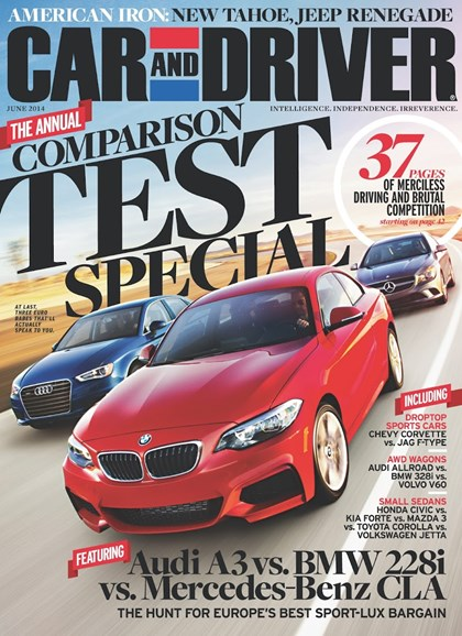 Car And Driver Cover - 6/1/2014