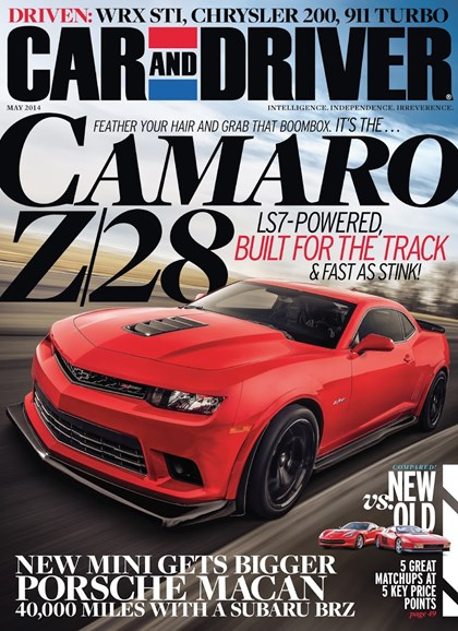 Car And Driver Cover - 5/1/2014