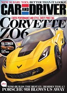 Car And Driver Magazine 3/1/2014