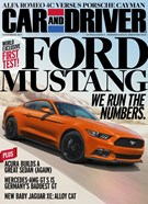 Car And Driver Magazine 11/1/2014
