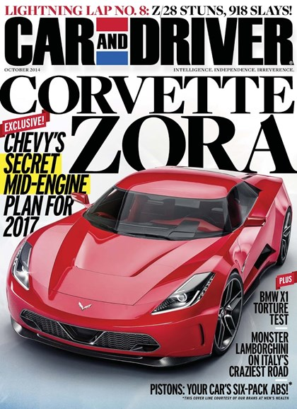 Car And Driver Cover - 10/1/2014