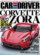 Car And Driver Magazine 10/1/2014