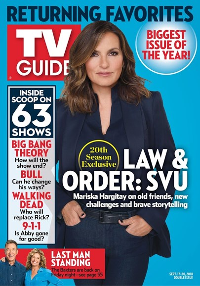 TV Guide Cover - 9/17/2018