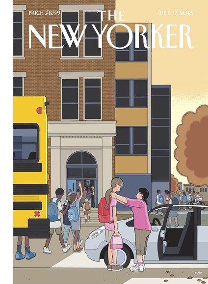 The New Yorker Cover - 9/17/2018