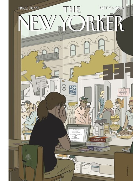The New Yorker Cover - 9/24/2018