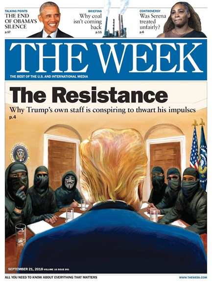 The Week Cover - 9/21/2018