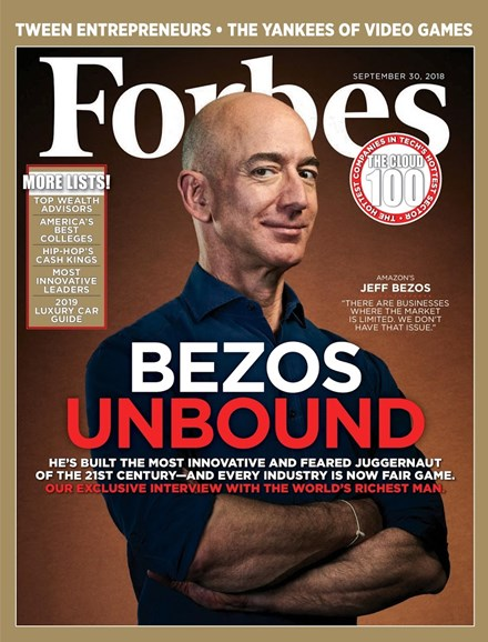 Forbes Cover - 9/30/2018