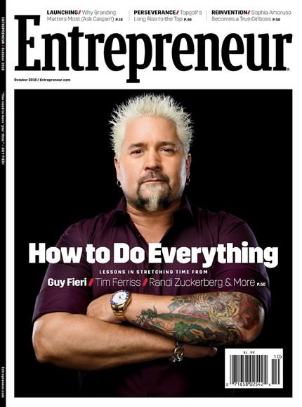 Entrepreneur Cover - 10/1/2018